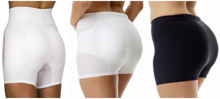 Womens Body Enhancers: Padded Briefs, Hip and Butt Shaper