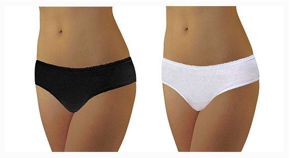 100% Cotton Women Dispossable Underwear