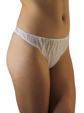 Picture of Womens Disposable Thongs 7-Pack