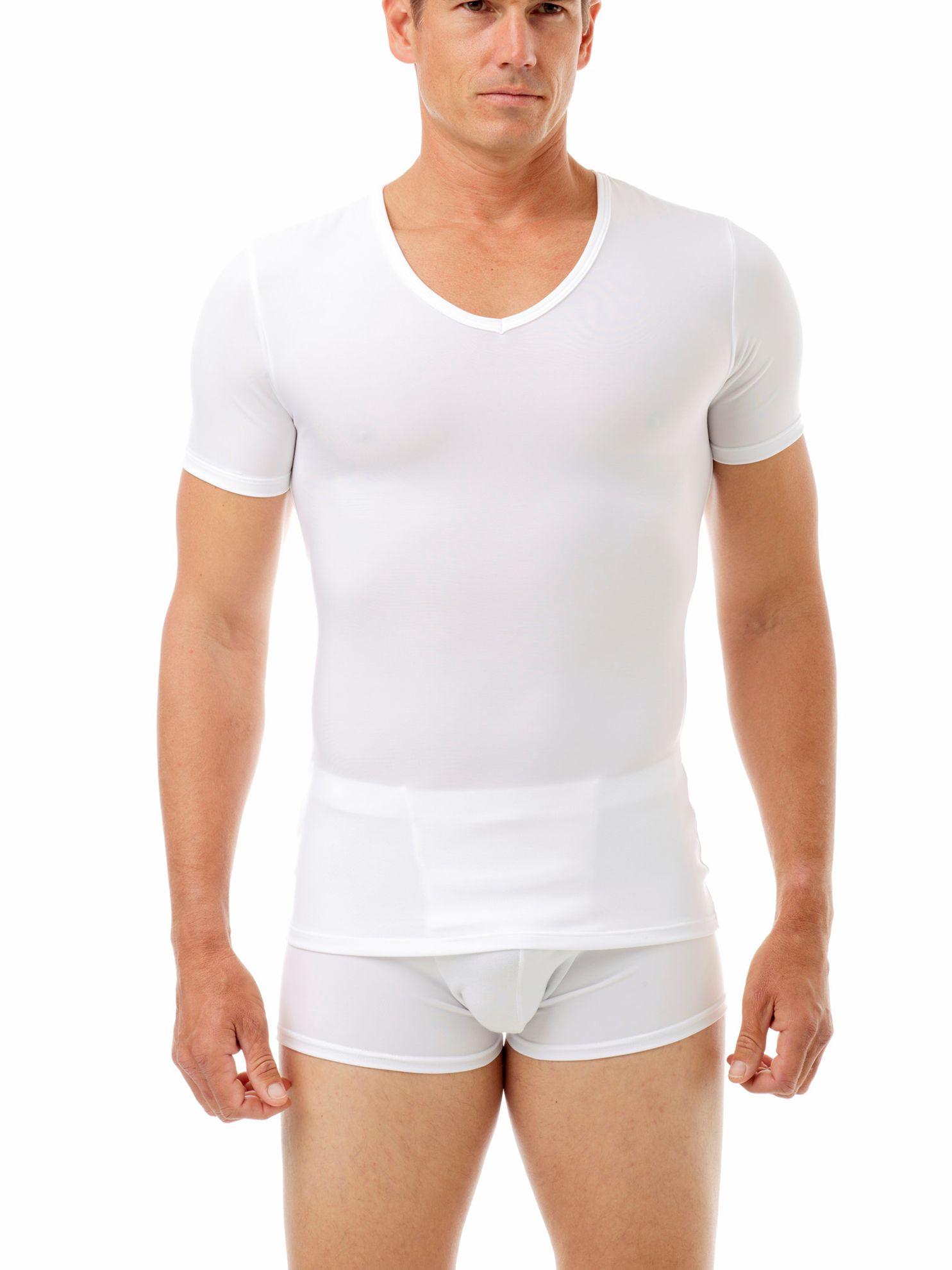 Picture of Microfiber V-Neck Compression T-Shirt