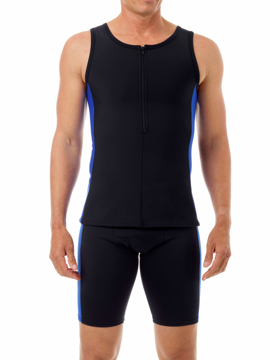 Picture of Mens Compression Sleeveless Swim Top
