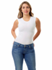 Picture of Womens Ultra Light Cotton Spandex Sleeveless Compression Top