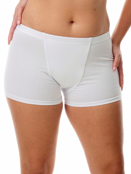 Picture of Womens Cotton Spandex Boxers