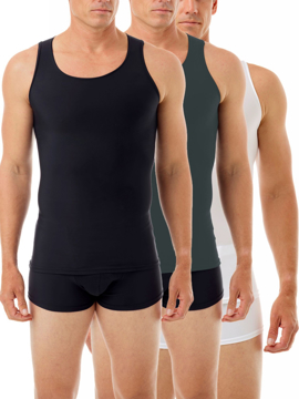 Picture of Microfiber Sleeveless Compression Shirt 3-PACK
