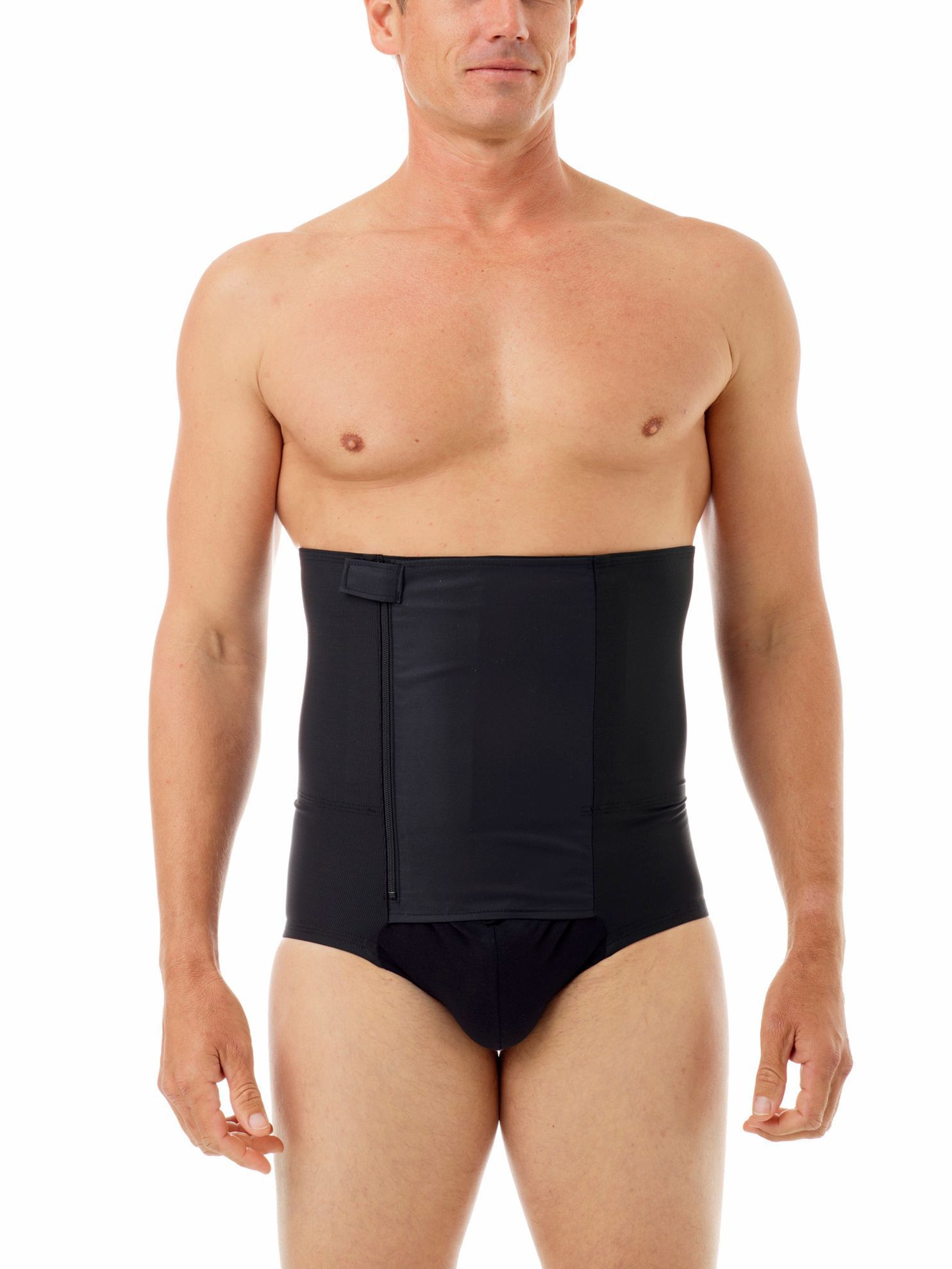 Picture of Mens 8-Inch Zip-n-Trim Support Boxer Brief