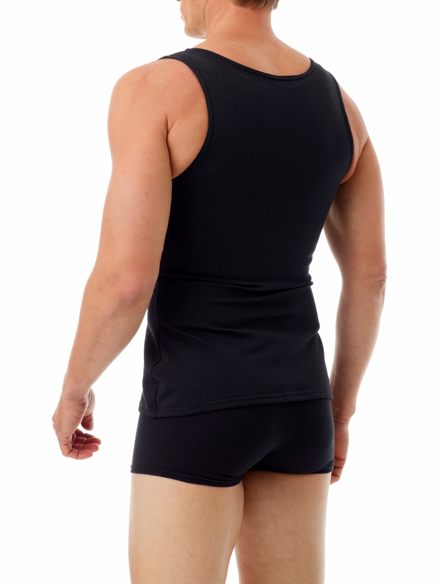 Picture of Mens Cotton Concealer Compression Chest Binder Tank