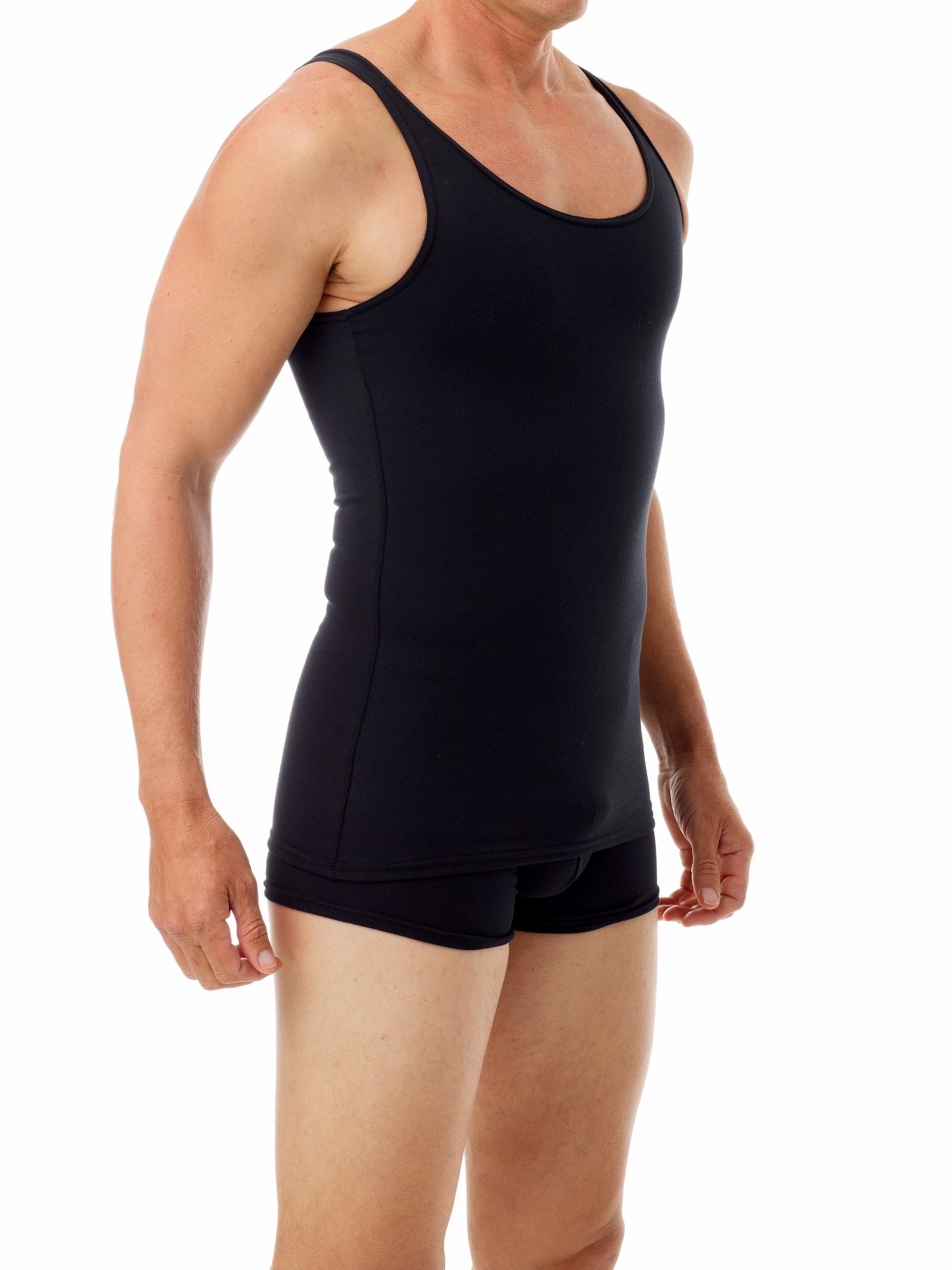 Picture of Mens Cotton Compression Concealer Tank Top