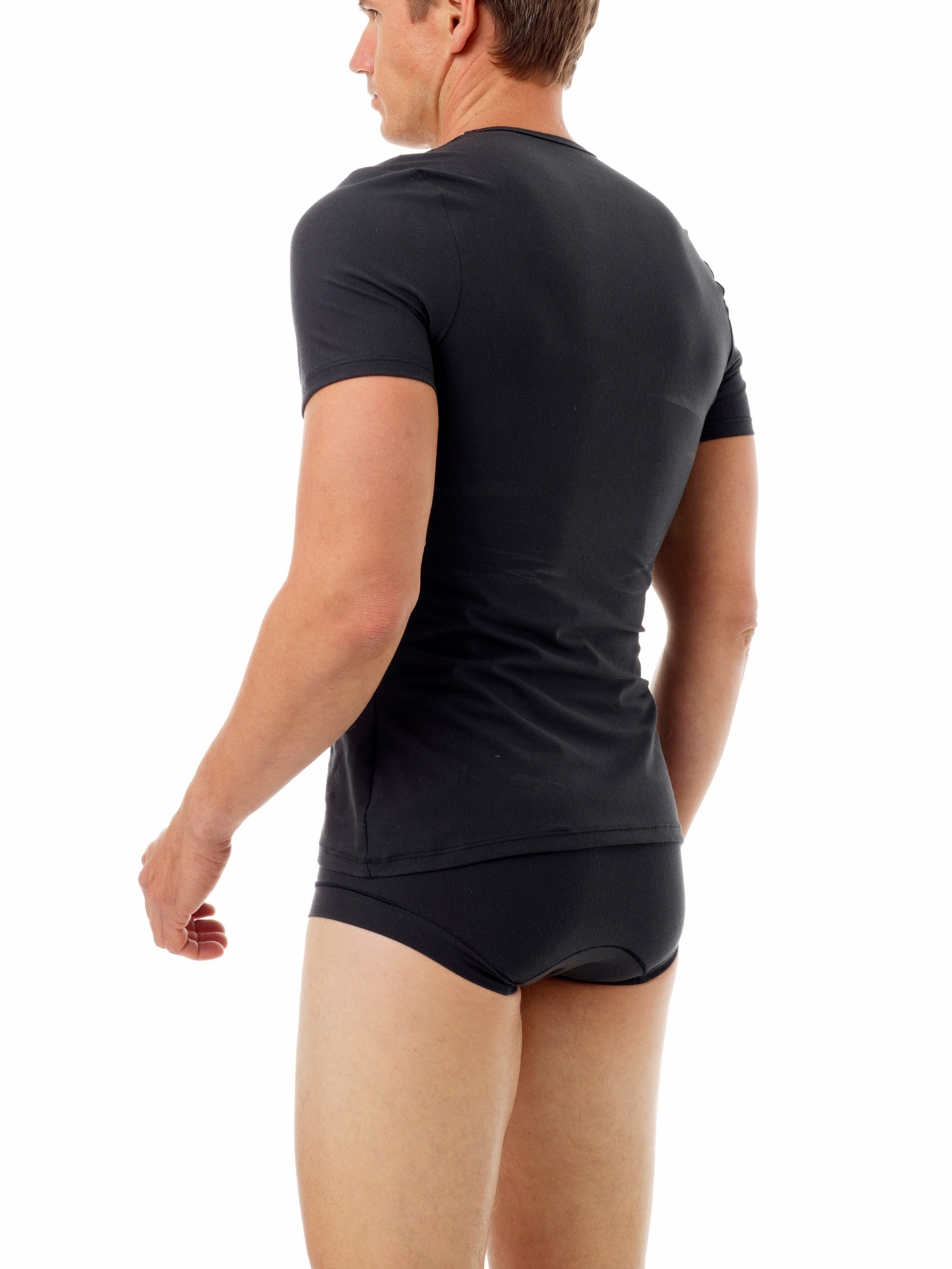 Picture of MagiCotton V-Neck Compression Shirt for Men