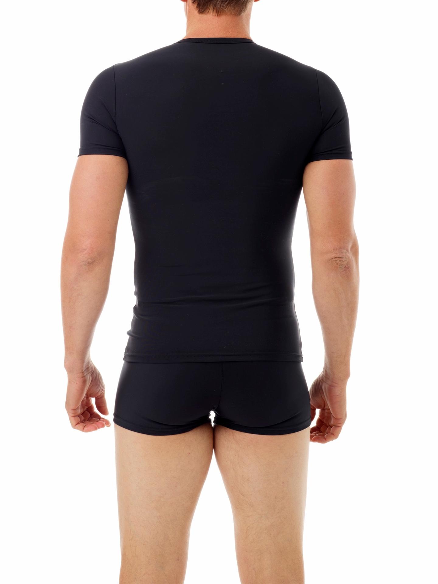 Picture of Mens Microfiber Concealer Compression Crew Neck T-Shirt