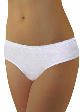 cotton disposable underwear is ideally packaged for maximum space efficiency