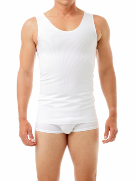 Picture of The Cotton Lined Power Chest Binder Tank - Slightly Irregular Garment