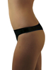 Underworks Black Cotton Disposable Thongs for ladies