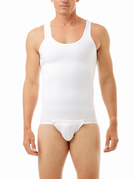 Mens Compression Tanksuit Girdle